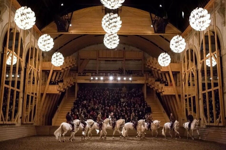 show at the equestrian academy