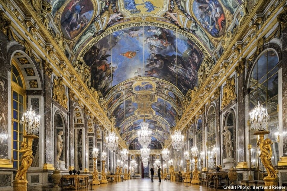 gallery of the castle of Versailles