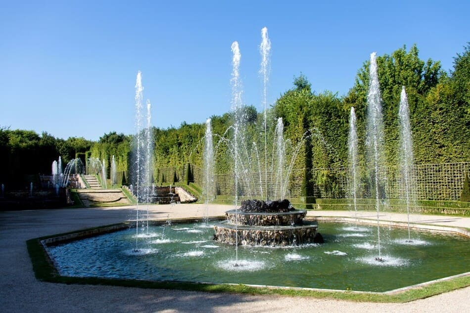 fountain of the castle of Versailles